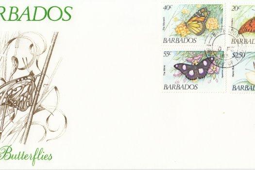 Barbados 1983 | Butterflies of Barbados FDC