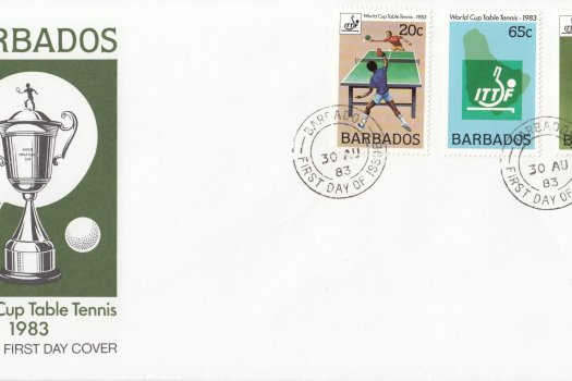 Barbados 1983 | World Cup Table Tennis FDC