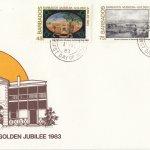 Barbados 1983 | Barbados Museum Golden Jubilee FDC