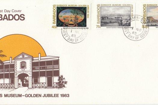 Barbados 1983   Barbados Museum Golden Jubilee FDC