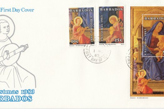 Barbados 1983 | Christmas 1983 FDC
