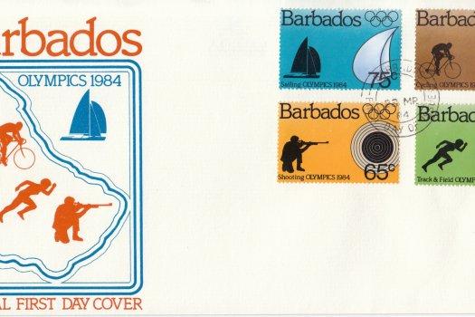 Barbados 1984 | Olympics 1984 FDC