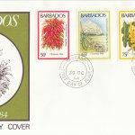 Barbados 1984 | Christmas Flowers FDC