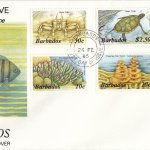 Barbados 1985 | Marine Life Definitives FDC Part 1