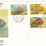 Barbados 1985 | Marine Life Definitives FDC Part 2