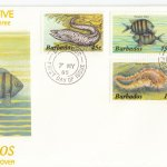 Barbados 1985 | Marine Life Definitives FDC Part 3