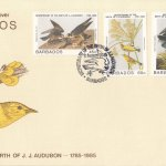 Barbados 1985 | Bicentenary of the Birth of J.J.Audubon FDC
