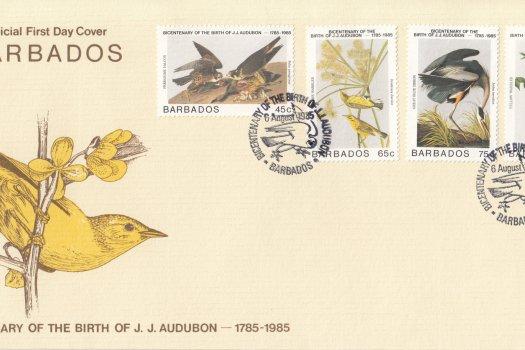 Barbados 1985 | Bicentenary of the Birth of J.J.Audubon FDC