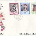 Barbados 1986 | 60th Birthday of Queen Elizabeth II FDC