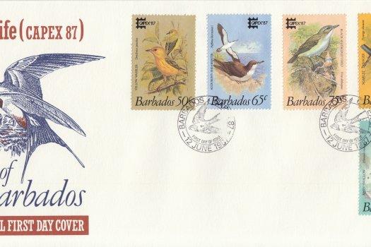 Barbados 1987 | Capex 87 International Stamp Exhibition FDC