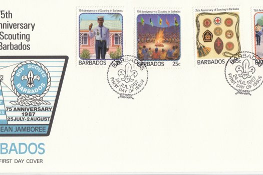 Barbados 1987 | 75th Anniversary of Scouting in Barbados FDC