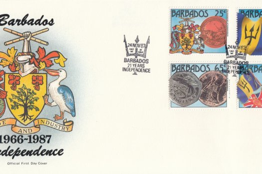 Barbados 1987 | 21st Anniversary of Independence FDC