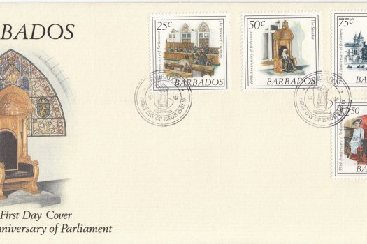 Barbados 1989 | 350th Anniversary of Parliament FDC
