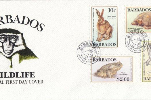 Barbados 1989 | Wildlife Preservation FDC
