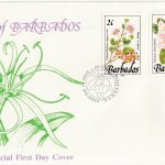Barbados 1989 | Wild Plants of Barbados Definitive FDC (2)