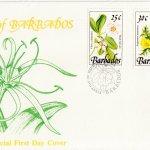Barbados 1989 | Wild Plants of Barbados Definitive FDC (3)