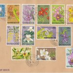 Barbados 1974 | Orchids of Barbados Definitives on plain FDC