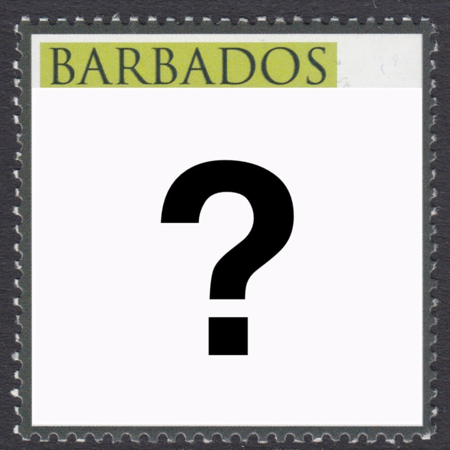Barbados Mystery Stamp