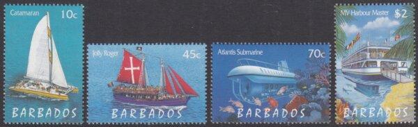 Barbados 1129-1132 | Tourism