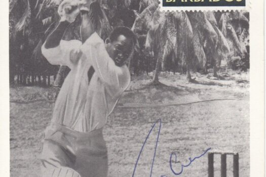 Barbados 1966 | Sir Garfield Sobers Signed First Day Maximum Card