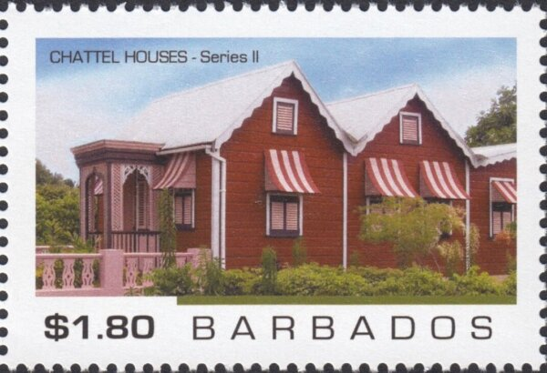 Barbados - Chattel Houses Series 2 - $1.80