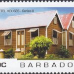 Barbados - Chattel Houses Series 2 - 10c