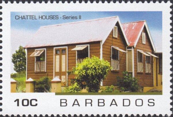 Barbados - Chattel Houses Series 2 - 10c