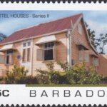 Barbados - Chattel Houses Series 2 - 65c