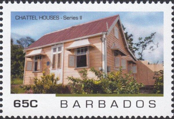 Barbados - Chattel Houses Series 2 - 65c
