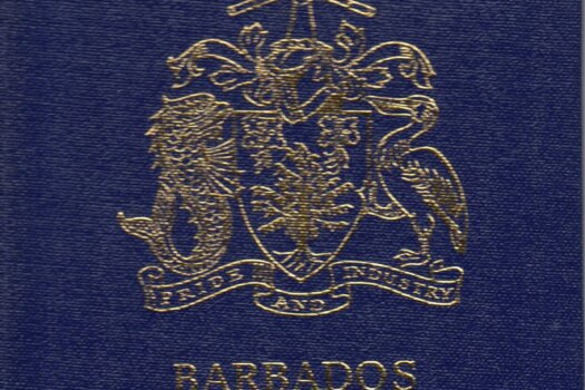 XVIIIth Congress of the Universal Postal Union, Rio de Janeiro 1979 - Barbados stamp booklet cover