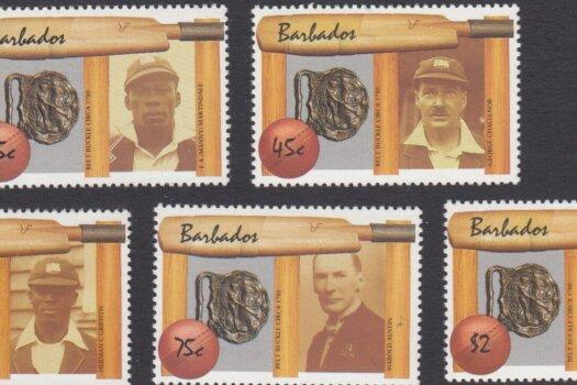 Barbados SG 854-858 | West Indian Cricket