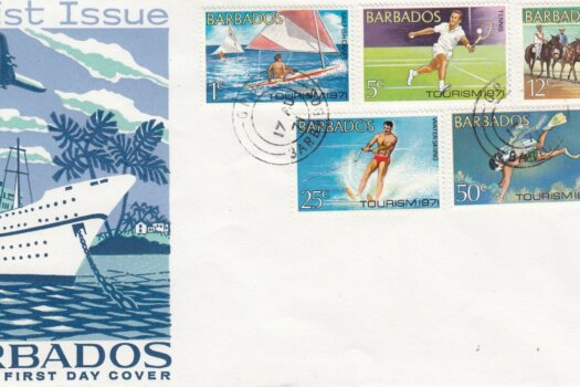 Barbados 1971 | Tourism FDC