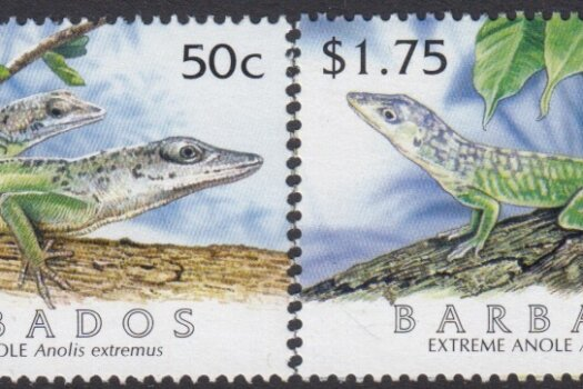 Barbados SG1286-1289 | Extreme Anole