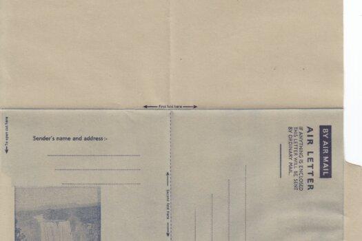 British Guiana 6c Airmail Air Letter