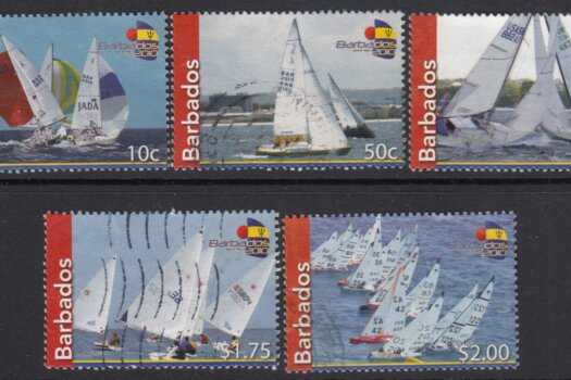 Barbados SG1349-1353 | Fireball International World Championship Sailing 2010 (Used)
