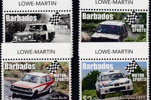 Barbados SG1482-1485 | Motor Sport in Barbados