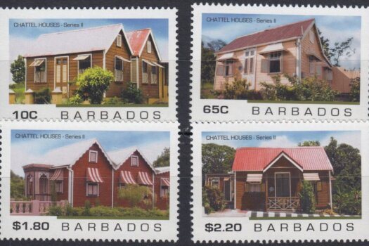 Barbados SG1496-1499 | Chattel Houses 2