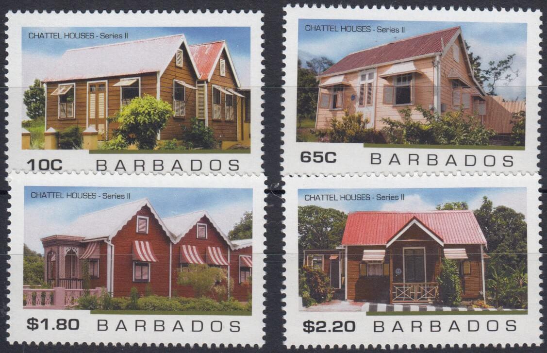 Barbados SG1496-1499 | Chattel Houses 2