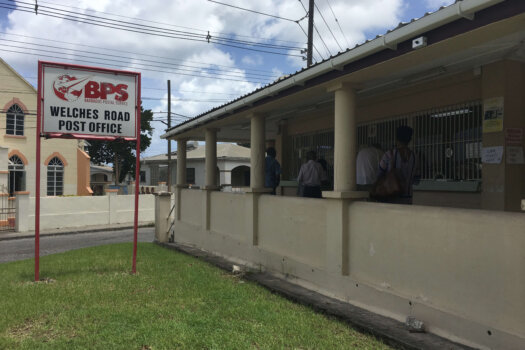 Welches Road Post Office, Barbados