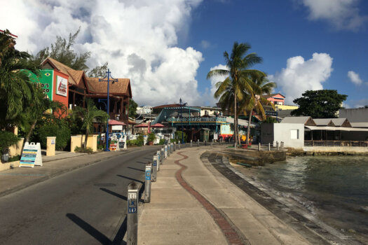 St Lawrence Gap approach, Barbados