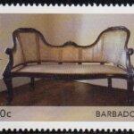 Barbados Antique Furniture 2021 – 10c stamp
