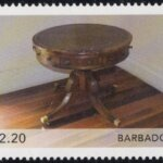 Barbados Antique Furniture 2021 – $2.20 stamp