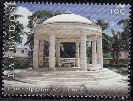 Emancipation Monument | Synagogue Block restoration | Barbados Stamps