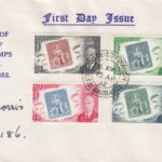Barbados Stamp Centenary FDC on Printed Cover