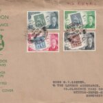 Barbados Stamp Centenary FDC on London Assurance Printed Cover