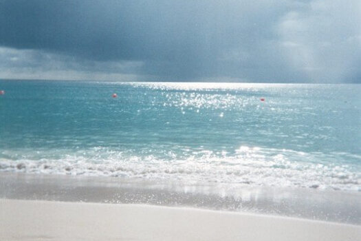 West Coast beach., Barbados