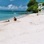 Photographer on Mullins Beach, Barbados