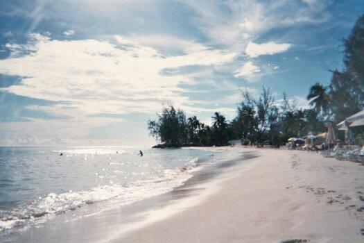 Rockley Beach, Barbados, 2004
