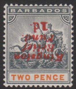 Barbados SG153a