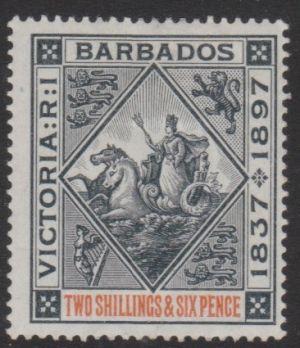Barbados SG124